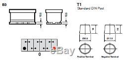 Yuasa Silver High Performance SMF Battery 110Ah 900CCA YBX5020 4Year Warranty