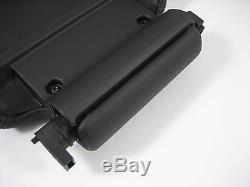 05-09 Lr3 / Range Rover Sport Console Centre Cubby Box Couvercle Ebony Noir Véritable