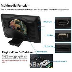10,1 '' LCD Tft Voiture Moniteur Appui-tête Plug & Play Lecteur DVD Vidéo Hd Usb / Sd / Hdmi