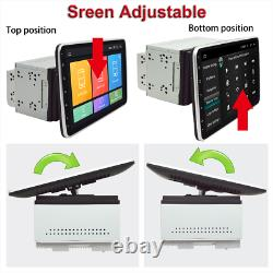 10.1dans 2 Din Android 8.1 Voiture Bt Stereo Radio Mp5 Player Gps Navigation Head Unit