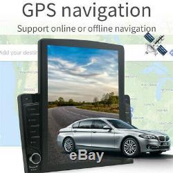 10.1in 1din Android 8.1 Quad-core Wifi Bt Lecteur Stéréo Voiture De Navigation Gps