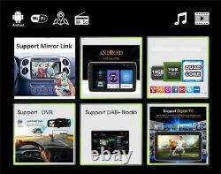 10.1in 1din Voiture Stereo Radio Mp5 Lecteur Gps Sat Nav Chef Unité Wifi Android 9.1
