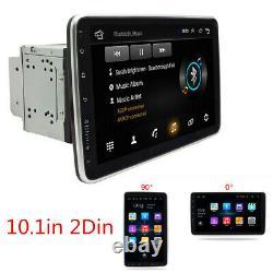 10.1inch Voiture Stereo Android 9.1 Lecteur Mp5 Wifi Gps Fm Radio Rotatable Unité De Tête