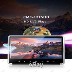 11,6 Écran Numérique Hd 1080p Têtière Lecteur DVD De Voiture Jeu Hdmi / Fm / Ir / Usb / Sd