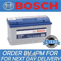 12v 95ah S4013 Batterie De Voiture Bmw, Mercedes Jaguar & Bosch S4 013 019