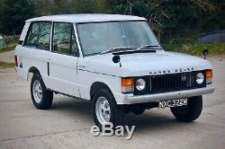1973 Range Rover Classic 2 Portes B Suffixe