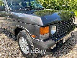 1988 Classic Range Rover 3.5 Efi Automatique 36000 Garantis Miles