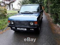 1993 Range Rover Classic 3.9 V8 Auto Vogue, Véhicule Land Rover D'origine