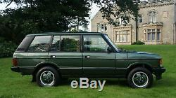 1993 Range Rover Classic Vogue Lse Empattement Long Ardennes Vert Tan 4.2 V8