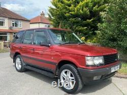 +++1996 P Land Rover Range Rover 2.5 Td Manuel 4x4 5 Portes Suv P38+++