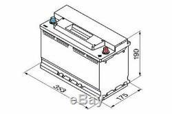 1x Yuasa Start Stop 95ah 850cca 12v 017 Agm Batterie De Voiture 4 Ans Garantie Ybx9019