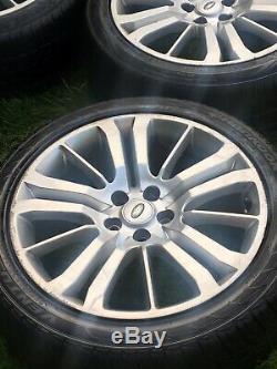 20 Range Rover Sport Véritable Vw Transporter T5 T6 T32 T30 Jantes En Alliage Pneus