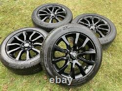 20 Range Rover Sport Vogue Discovery Defender Alloy Wheels Pirelli Mich Pneus