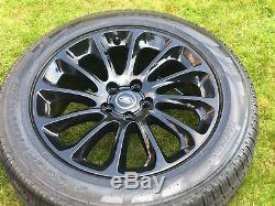 20 Range Rover Vogue Véritable Sport Découverte L495 L405 Jantes En Alliage Pneus Jantes