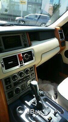 2003 Land Rover Range Rover Magnolia Avec Des Accents Bleu