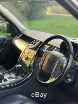 2006 06 Land Rover Range Rover Sport 4.2 Hst Supercharged 5dr Argent 50k