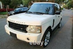 2008 Land Rover Range Rover Supercharged 4x4 Suv 4 Portes