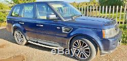 2010 (10) Land Rover Range Rover Sport Hse 3.0td De Rechange Ou