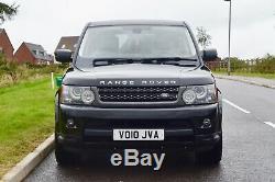 2010 Land Rover Range Rover Sport 3.0 V6 Td Hse Sat Nav Rev Cam Complète Mot