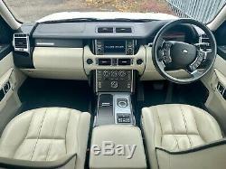 2012 Land Rover Range Rover Tdv8 Vogue 4.4 313 Ch Diesel 5d Ivoire Cuir