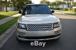 2015 Land Rover Range Rover Autobiography Empattement Long Suv Meilleure Offre Sur Ebay