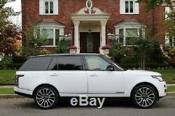 2015 Land Rover Range Rover Autobiography Lwb 4x4 Suv 4 Portes