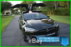 2016 Tesla Model X 90d Awd Suv Autopilot Turbine Roues Meilleure Offre Sur Ebay