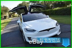 2017 Tesla Model X 75d Suv Autopilot Subzero Paquet Meilleure Affaire Sur Ebay