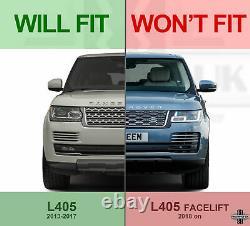 2018 Look Lifting Grille Avant Pour Range Rover L405 Vogue 2013-17 Black+argent