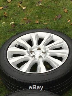 21 Range Rover Vogue Sport Découverte Jantes En Alliage Pneus Pirelli Véritable Lr