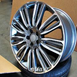 22 22x9.5 Roues Dynamiques Fit Land Rover Range Rover Hse Sport Discovery Superch