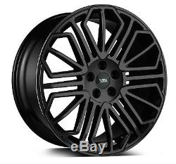 22 Alloys Wheels Land Rover Range Rover Evoque X4 Black Gloss