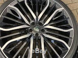 22 Hawke Vega Jantes En Alliage Profilé Pneus Range Rover Evoque Discovery Sport