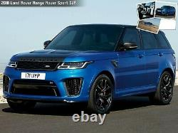22 Roues Svr Fit Land Rover Range Rover Hse Sport Discovery Supercharge
