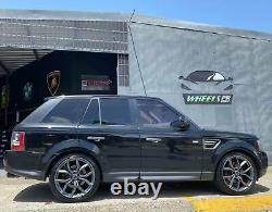 22 Svr Style Gun Roues En Métal Fit Land Range Rover Sport Hse 5x120 Rims Set 4