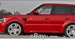 23 Véritable Range Rover Sport Vogue Découverte Kahn Jantes En Alliage Rs600 Cosworth