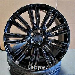 24 Roues Dynamiques 24x10 Fit Land Rover Range Rover Hse Sport Discovery Superch
