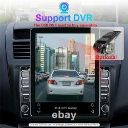 2din Android 9.1 9.7'' Voiture Stereo Radio Mp5 Gps Navigation 4-core 1+16 Go Wifi Bt