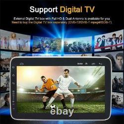 2din Rotatif 10.1in 2+32g Voiture Stéréo Android 9.1 Wifi Bluetooth Gps Nav Radio