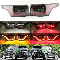 2x Led Flash Dynamique Arrière Feu Arrière Lampe Pour Land Rover Range Rover Sport 13-17