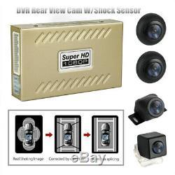 360 ° 1080p Hd Dvr Oiseau Voir Système Panoramique Transparente 4 Caméra Withshock Capteur