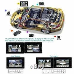 360 ° Parking Vue Complète Avec Avant / Arrière / Droite / Gauche 4 Caméras Dvr Et Surveillance Vidéo