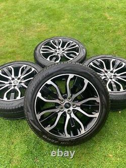 4 X 21 Gamme Rover Sport Vogue Découverte Alliage Defender Pneumatiques Pirelli