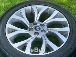 4 X 21' Origine Land Rover Sport Vogue Discovery Jantes Jantes Pneus Pirelli