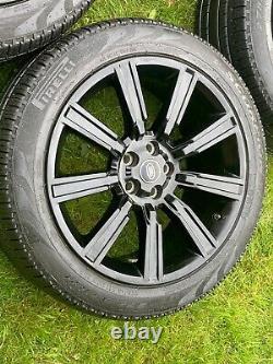 4 X 21 Range Rover Sport Vogue Découverte Alliage Defender Roues Pirelli Pneumatiques