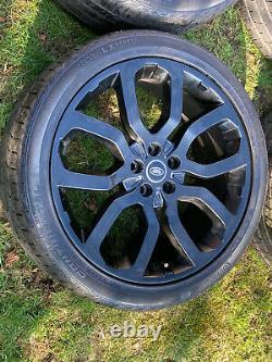 4 X 22 Véritables Range Rover Vogue Sport Discovery Autobiographie Alliage Roues