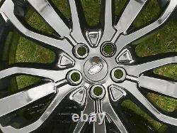 4 X Genuine 21 Range Rover Vogue Sport Discovery Alloy Wheels Conti Tyres