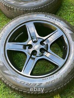 4 X Genuine Terre Rouver 20 Défense De La Vogue De La Défense Alloyées Pourquoi Pirelli Tyres