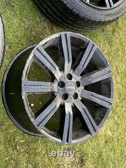 4 X Land Rover Range Rover Vogue Sport Discovery Alloy Wheels Excellents Pneus