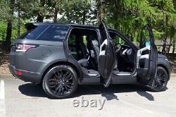 4 X Real 21 Range Rover Sport Vogue Discovery Alliage De Défense Pneumatiques